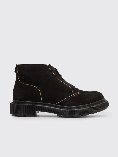 Adieu Type 104 Suede Boots Black