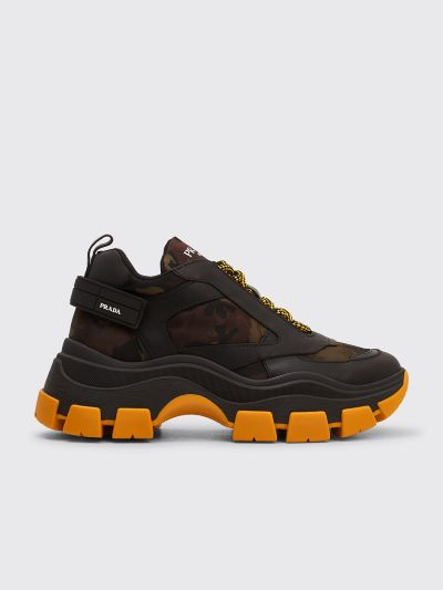 bons plans 2017 obtenir de nouveaux magasin en ligne Prada Pegasus Sneakers Camo Black