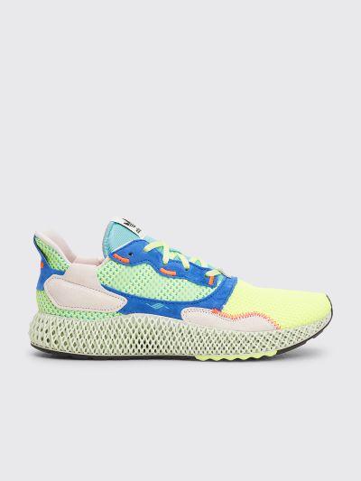 online retailer 3f873 6541a adidas ZX 4000 4D Hi-Res Yellow / Linen Green