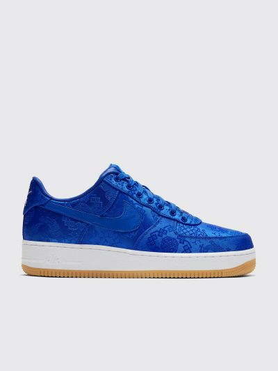 Nike x CLOT Air Force 1 PRM Silk Game Royal