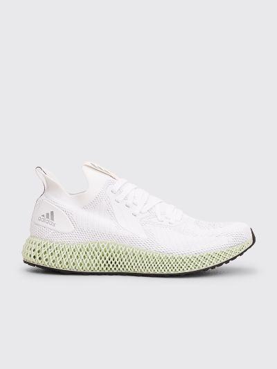 Adidas White Alphaedge 4d Shoes