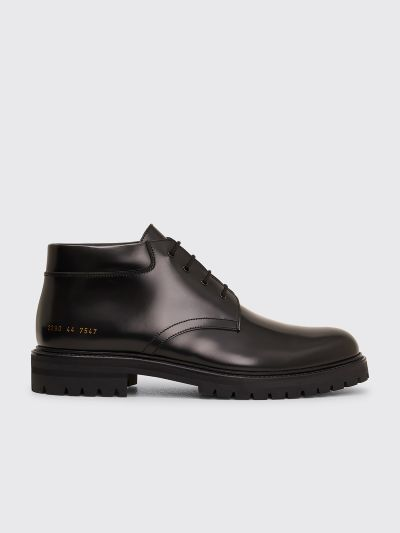 Common Projects Combat Derby Shoes Black