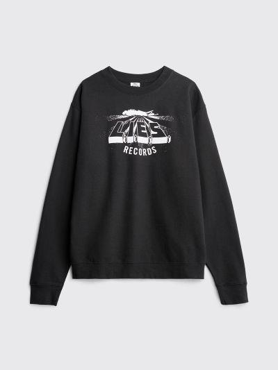 L.I.E.S. Records Classic Logo Sweatshirt Black