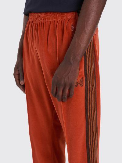 55e09022242b Très Bien - Needles Narrow Track Pants Velour Brick