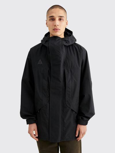 Nike ACG Hooded Gore Tex Jacket Black Anthracite
