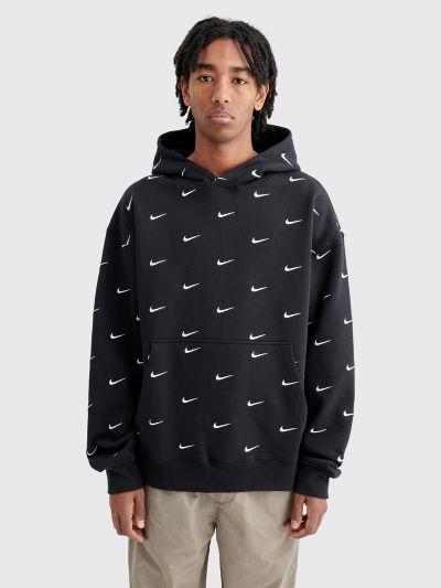 discount sale offer discounts buying new Très Bien - Nike NRG Swoosh Logo Hooded Sweatshirt Black