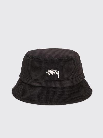 myyntipiste myynnissä noukkia useita värejä Stüssy Corduroy Bucket Hat Black