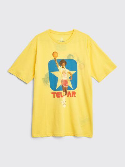 Très Bien - Converse x Telfar Reversible Tee Yellow Cream
