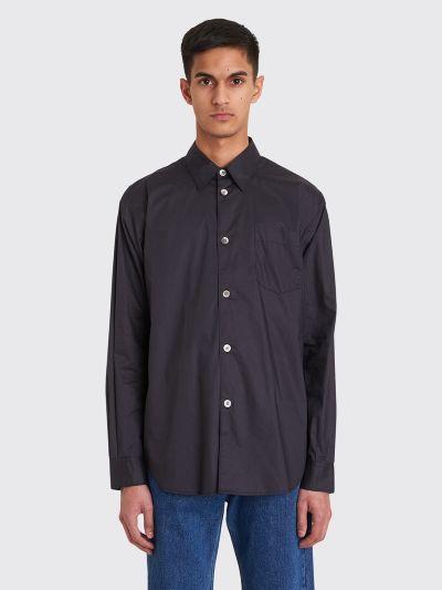 26575fb9f4bc Très Bien - Très Bien Classic Sport Coated Shirt Dark Navy