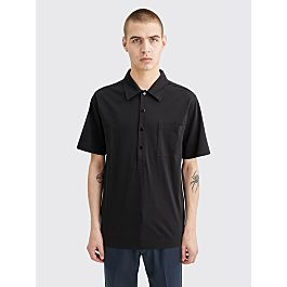 Dries Van Noten Hardy Polo Black by Très Bien