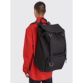 Raf Simons X Eastpak Loop Topload Backpack Black Matlassé by Très Bien