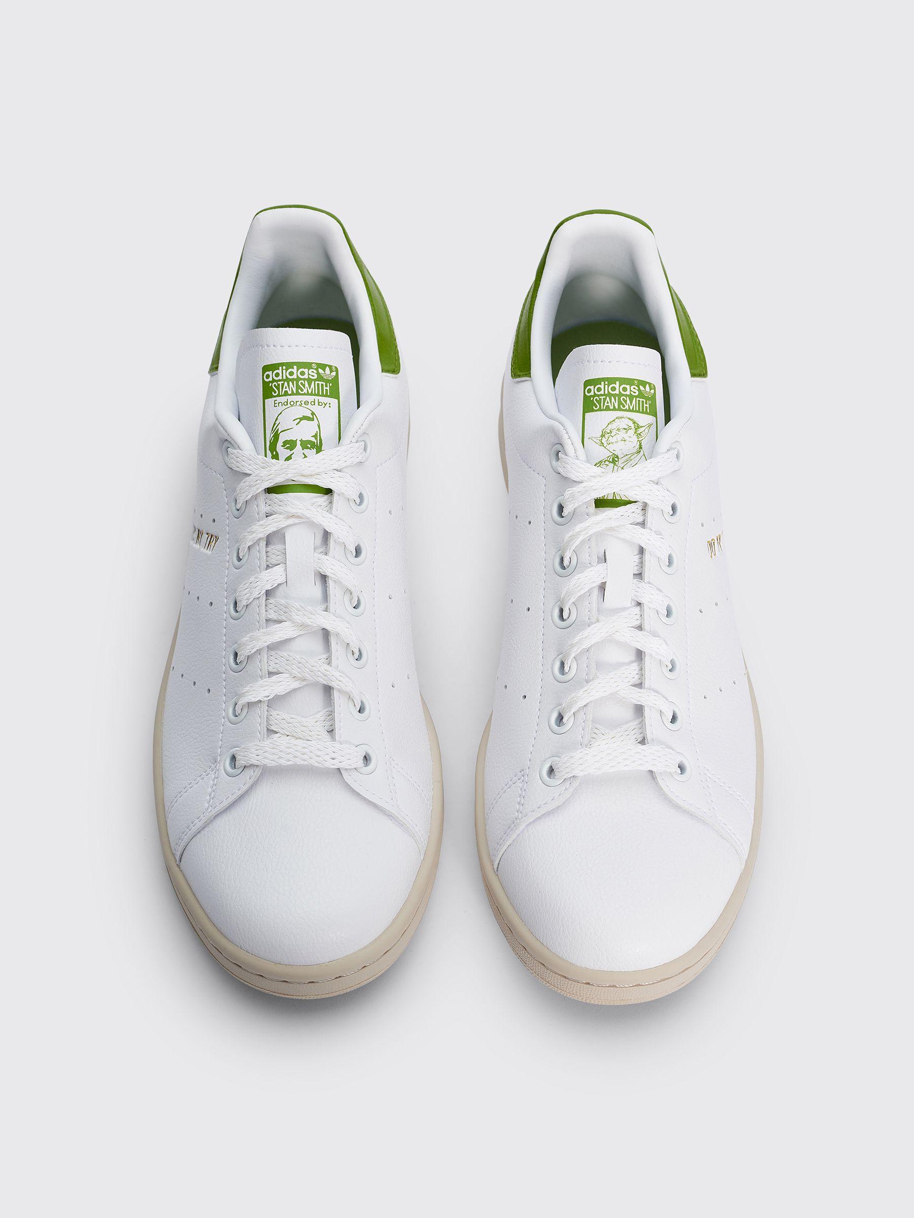 Adidas Originals Stan Smith CF White/Green | S75187 - Naked
