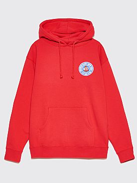 Nine One Seven Club Pullover Hooded Sweatshirt Red