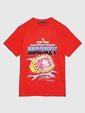 Nine One Seven Mackey Championship T-Shirt Red