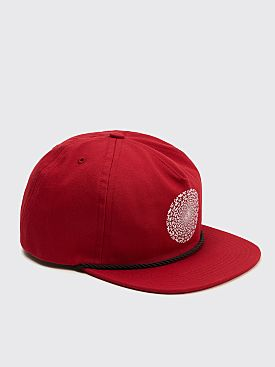 Nine One Seven Hypnotic Hat Maroon
