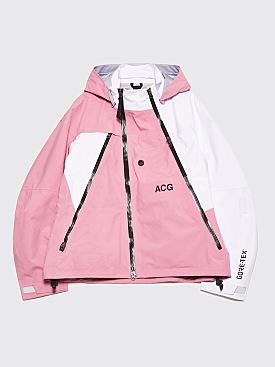 NikeLab ACG Deploy Gore-Tex Jacket Elemental Pink / White