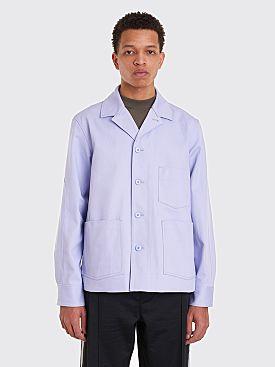Acne Studios Media Twill Jacket Lilac