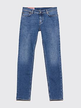 Acne Studios Blå Konst North Mid Blue