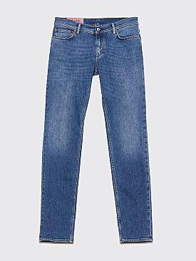 Acne Studios Blå Konst North Jeans Mid Blue