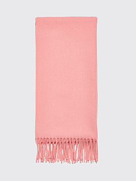 Acne Studios Canada Narrow New Scarf Pale Pink