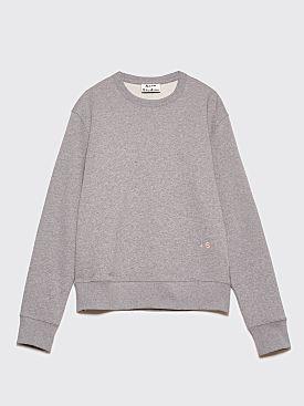 Acne Studios Faise Sweatshirt Light Grey Melange