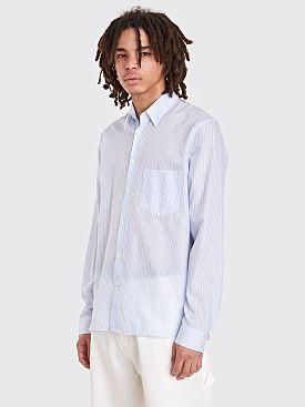 Acne Studios York Stripe Shirt Light Blue