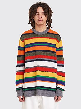 Acne Studios Niham Str Face Sweater Navy