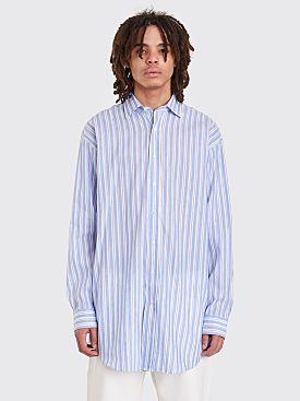 Acne Studios Atlent Chamb Shirt Blue Stripe