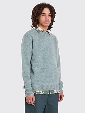 Acne Studios Nicoul Sweater Green Mint Melange