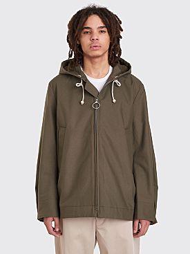 Acne Studios Melt Tw Short Jacket Safari Green