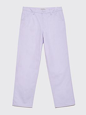 Acne Studios Aleq Trousers Lilac