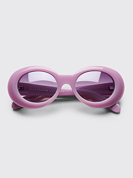 Acne Studios Mustang Sunglasses Violet Purple Degrade