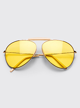 Acne Studios Howard Sunglasses Pale Gold Yellow