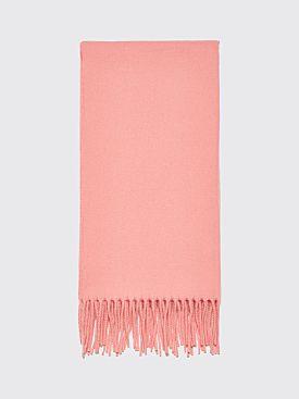 Acne Studios Canada Narrow New Scarf Pale Pink