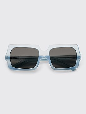 Acne Studios George Large Sunglasses Light Blue