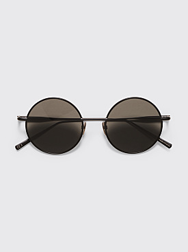 Acne Studios Scientist Sunglasses Black Satin