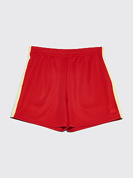 Acne Studios Navarro Face Shorts Red