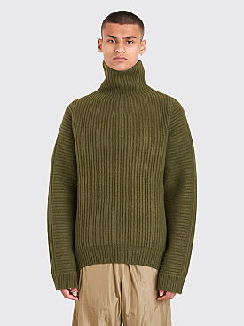 Acne Studios Nalle Sweater Hunter Green