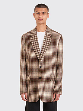 Acne Studios FN-MN-SUIT000005 Jacket Beige / Brown