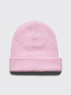 Acne Studios Peele Beanie Hat Powder Pink
