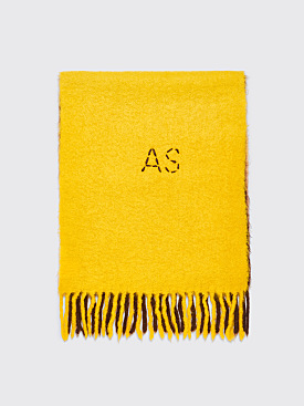 Acne Studios Kelow Dye Scarf Brown / Yellow