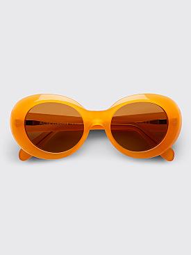 Acne Studios Mustang Sunglasses Orange / Brown