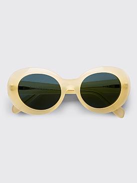 Acne Studios Mustang Sunglasses Yellow / Blue
