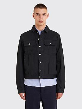 Acne Studios Blå Konst Tent Jeans Jacket Black