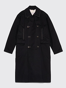 Acne Studios Oversized Trench Coat Black