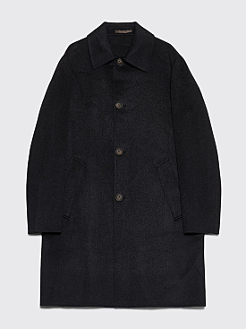 Acne Studios New Marilia Coat Black Melange