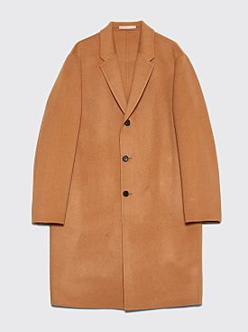 Acne Studios Chad Coat Camel Brown