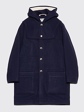 Acne Studios Duffle Coat Dark Blue