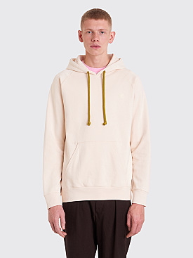 Acne Studios Blå Konst Hooded Sweatshirt Off-White