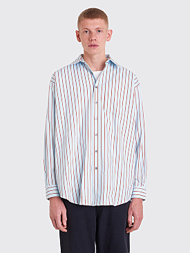 Acne Studios Atlent New Shirt Blue / Red